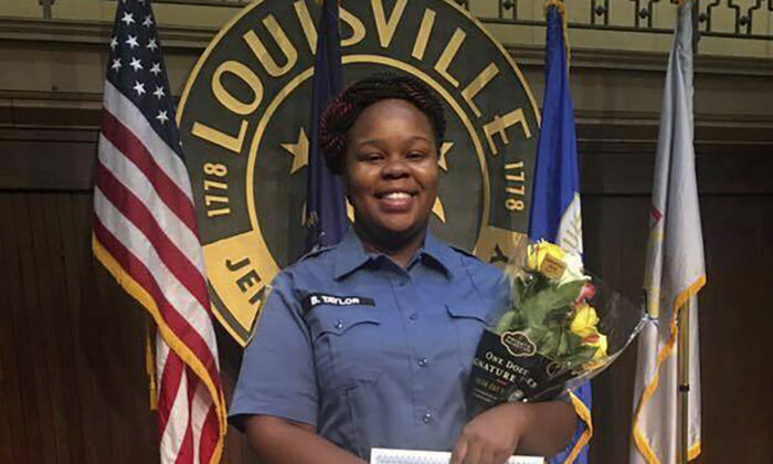 Breonna Taylor in Louisville, Ky., in an undated photograph. (Courtesy of Taylor family attorney Sam Aguiar via AP)