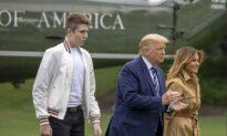 Trump's 14-Year-Old Son Barron Is Negative: Spokeswoman