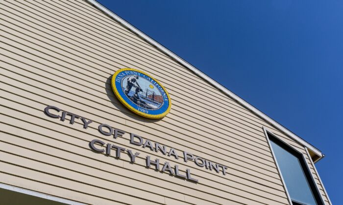 A file photo of City Hall in Dana Point, Calif. (John Fredricks/The Epoch Times)
