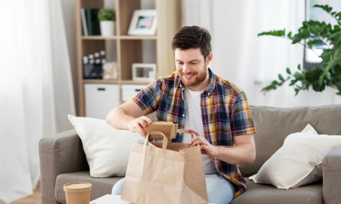 Home delivery used to mean greasy food in a box. Now it means healthy meals that make it easy to eat well.  (Syda Productions/Shutterstock)