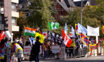 Chinese Canadians Join Global Protest Against Chinese Regime