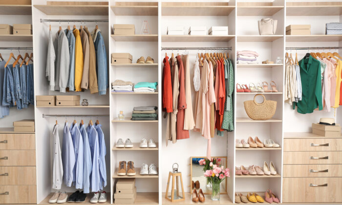 Once your organize your belonging into groups, it's easier to determine what you want to keep. (Pixel-Shot/Shutterstock)