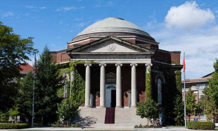 Hendricks Chapel at Syracuse University. (Justing/Wikimedia Commons)