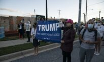 Pro, Anti-Trump Groups Gather Outside Walter Reed, Where Trump Is Being Treated