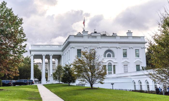 The White House in Washington on Oct. 2, 2020. (Manuel Balce Ceneta/AP Photo)
