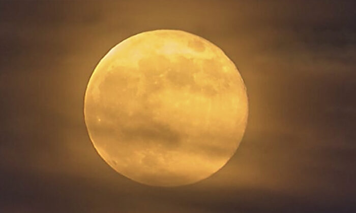 October's first full moon is the Harvest Moon on October 1, and the second full moon will occur on October 31. That's right: a full moon on Halloween. (Courtesy of NASA)