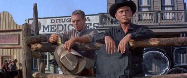 Steve McQueen joins Yul Brynner