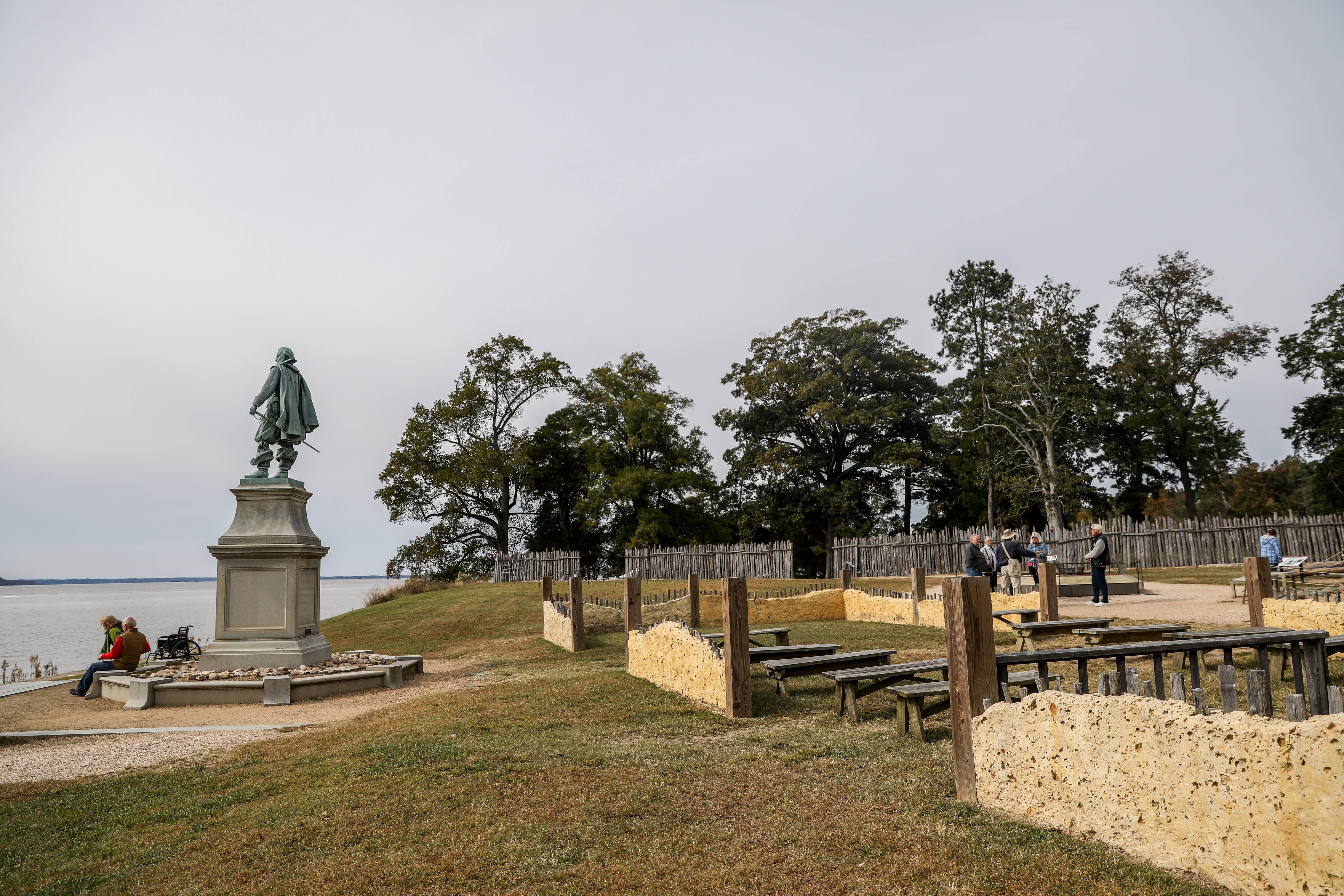 Historic Jamestowne, Va., on Oct. 25, 2018. (Samira Bouaou/The Epoch Times)
