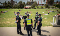 Five Police Officers Forcibly Detain Woman During Arrest at Melbourne Beach