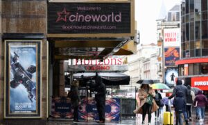 Cineworld Closes US, UK Theaters; 45,000 Jobs Hit