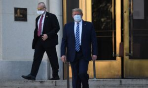 Trump Leaves Walter Reed Hospital, Returning to the White House