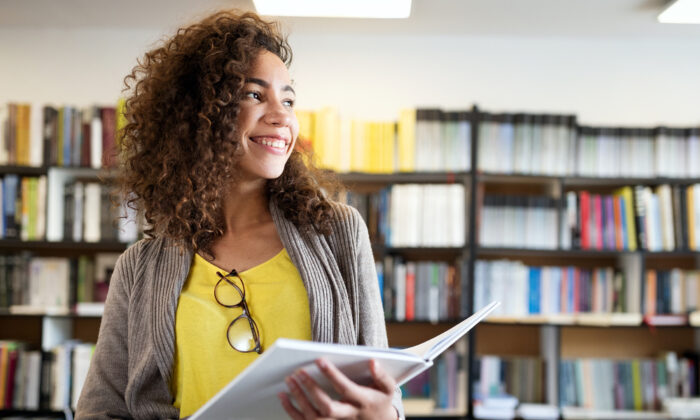 Students taking advantage of classes offering dual high school and college credits not only save money on their future college education, but also build confidence. (NDAB Creativity/Shutterstock)