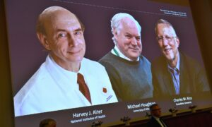 3 Win Nobel Medicine Prize for Discovering Hepatitis C Virus