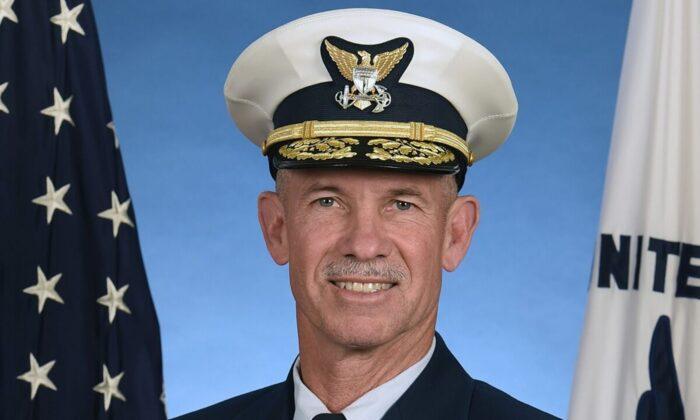 Admiral Charles W. Ray. (United States Coast Guard)