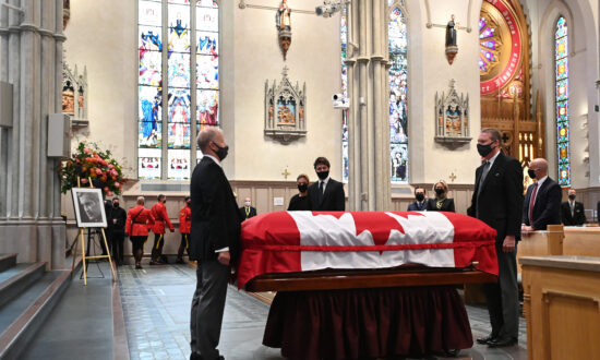 State Funeral for Former PM John Turner Held in Toronto