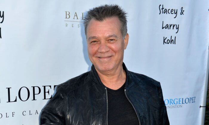 Eddie Van Halen attends the George Lopez Foundation 10th Anniversary Celebration Party at Baltaire on April 30, 2017 in Los Angeles, California.  (Photo by Jerod Harris/Getty Images for George Lopez Foundation)