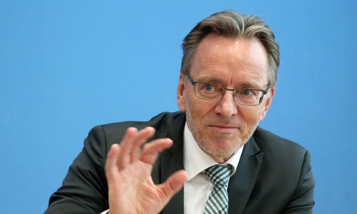 Holger Muench, president of Germany's Federal Police Bundeskriminalamt BKA