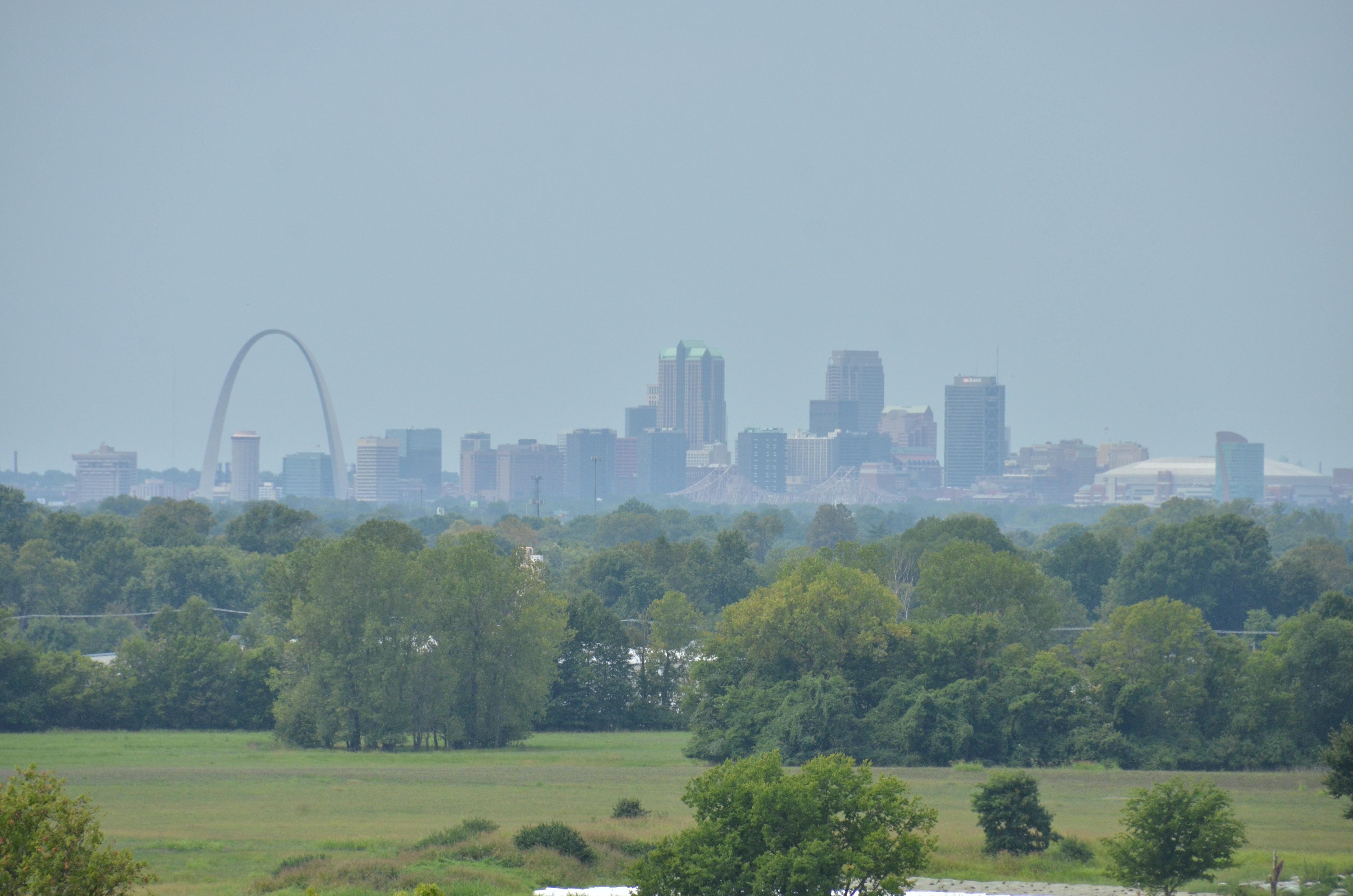 Gateway Arch in St. Louis