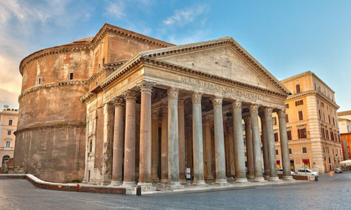 The Pantheon in Rome. (Phant/Shutterstock)