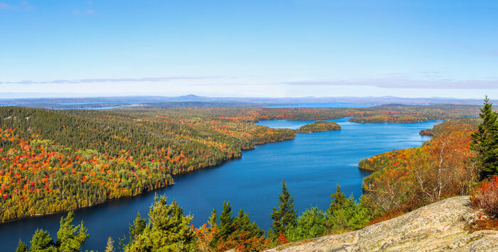 Fall colors in Acadia National Park. (Jason Busa/Shutterstock)