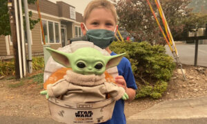 Boy, 5, Sends Baby Yoda Doll to Front Line Oregon Firefighters: 'In Case You Get Lonely'