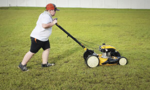 Boy Accepts '50 Yard Challenge,' Mows Lawns for Elderly, Veterans, Single Moms for Free