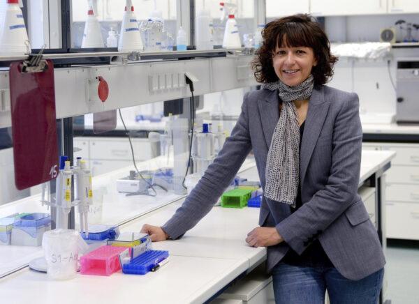 French microbiologist Emmanuelle Charpentier
