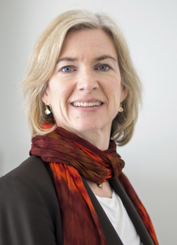 American biochemist Jennifer A. Doudna