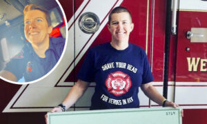 'It's the Best Day of My Life': MA. Firefighter Finally Returns to Work After Beating Cancer