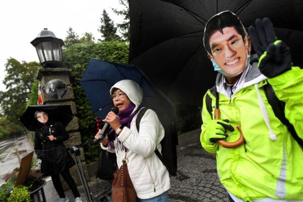Thai activists demonstrate