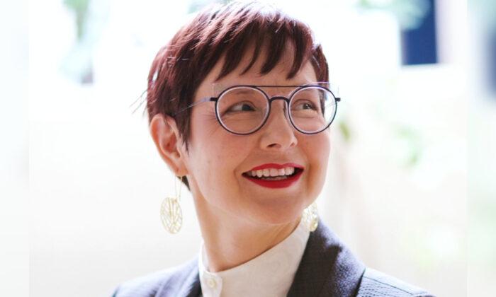 Sarah Iannarone in an undated campaign photograph. (Sarah for Portland Mayor)