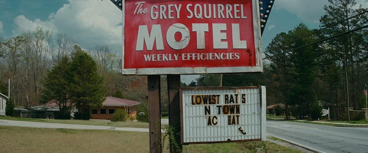 "Classic American motel sign in ""Trouble with the Curve"""