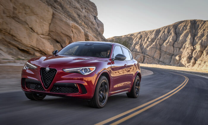 2020 Alfa Romeo Stelvio. (Courtesy of Alfa Romeo)