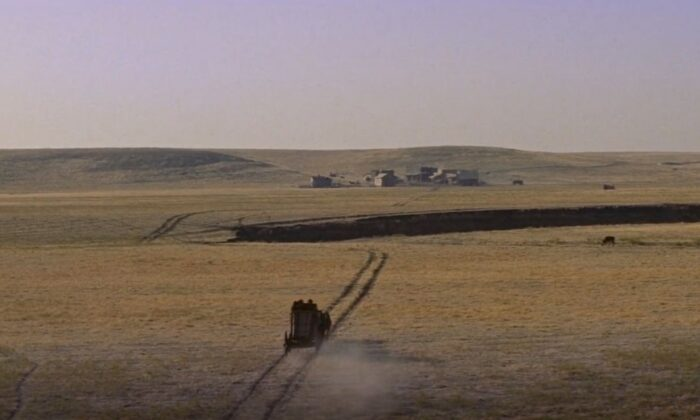 """The Big Country"" opens with scenes of the seemingly endless vista. (United Artists)"
