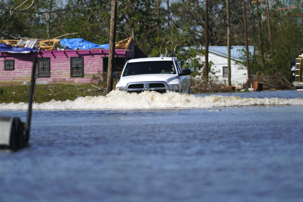 Hurricane Delta flood