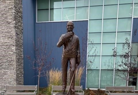 Statue Unveiled in Alberta Town of Humboldt Broncos Coach Who Died in 2018 Bus Crash