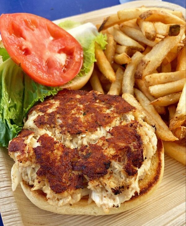 Y-the shack crabcake