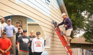 Man With Terminal Cancer Fulfills Dying Wish to Paint House for Wife–Thanks to Community