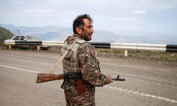 Nagorno-Karabakh militia soldier Kamo Naira
