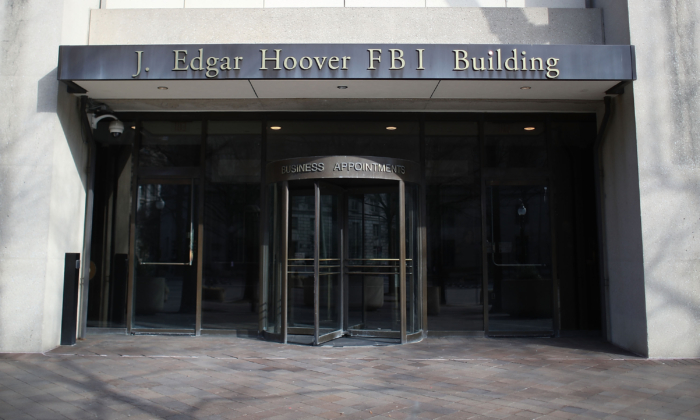 The FBI headquarters in Washington on Feb. 2, 2018. (Mark Wilson/Getty Images)