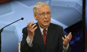 McConnell, Challenger Clash Over Stimulus Negotiations, Court Packing