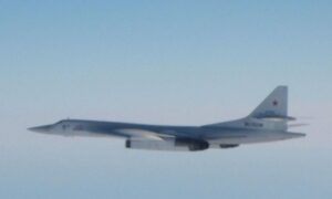 UK Fighter Jets Intercept Russian Bombers off Scotland Coast