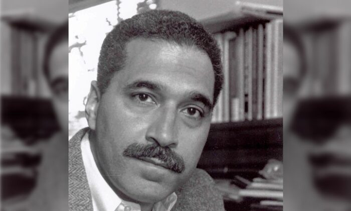 Shelby Steele, research fellow at the Hoover Institution in California, sits for a portrait in this undated photo. (Courtesy of the Hoover Institution/Getty Images)