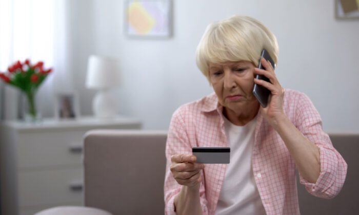 Credit card fraud can be a form of elder financial abuse. (Motortion Films/Shutterstock)