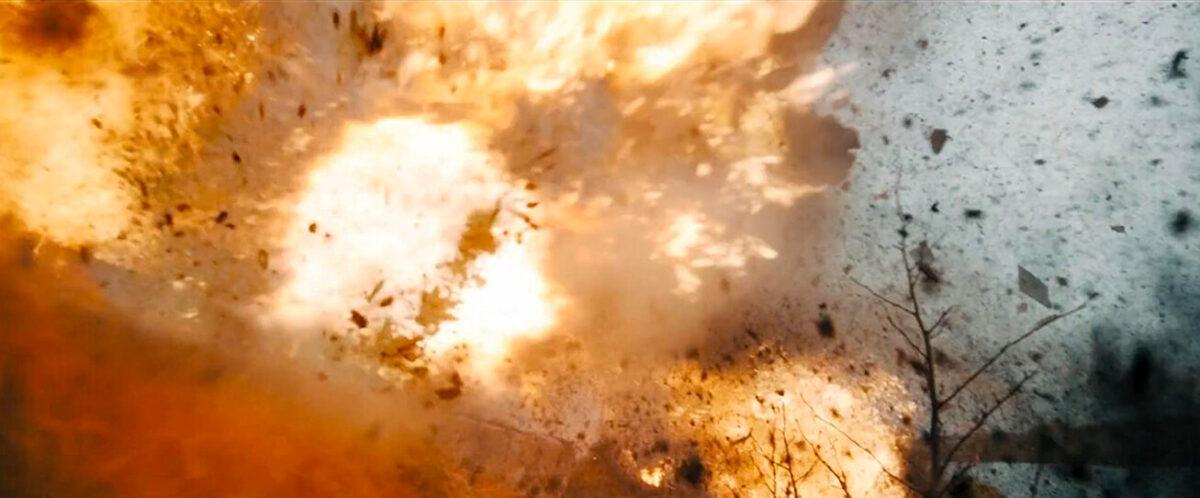 """an explosion in """"Angel Has Fallen"""""""