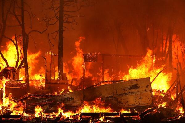California wildfire 2018