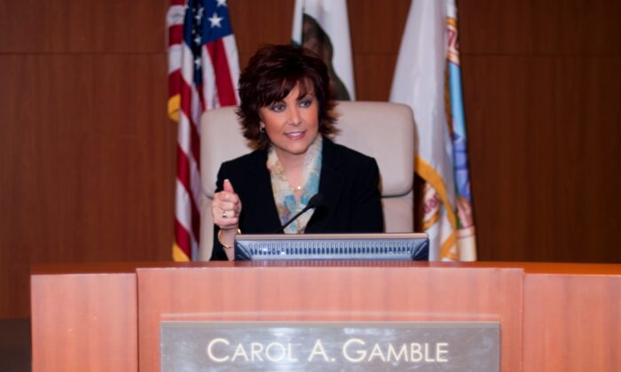 Rancho Santa Margarita City Councilmember Carol Gamble is one of two incumbents vying for seats against seven contenders in the November 2020 election. (Courtesy of Carol Gamble)