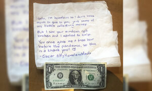 Homeless Man Donates His Last Dollar to Repair Aftermath of Portland Riots: 'I Wanted to Help'
