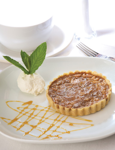 Pecan and Pinyon Pie at the Turquoise Room. (Courtesy of the Turquoise Room)