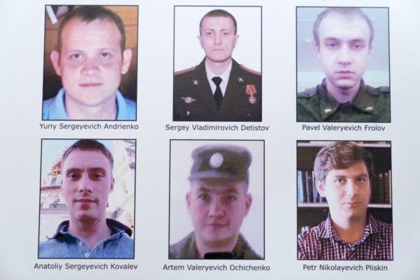 6 Russian hackers